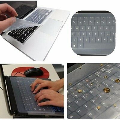 13 14 Inch Silicone Protective Film Water Dust Proof Keyboard Cover Case for Lap