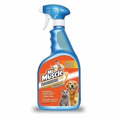 Mr Muscle Pro Stain Remover Odour Remover Clean Scent 945ml