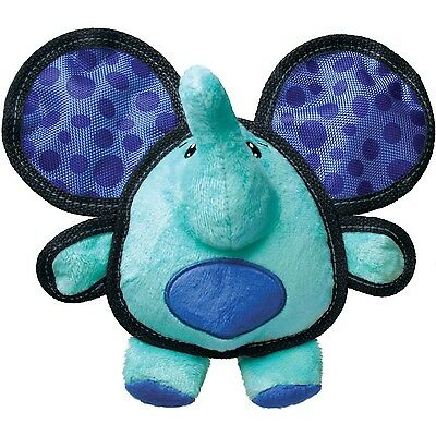 Kong Ballistic Ears Elephant Plush Dog Toy Multi-Coloured Medium