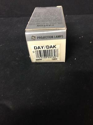 Ge Projection Lamps Bulb Day/dak 500W 120V