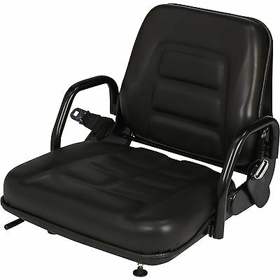 Concentric Universal Fold-Down Fork Lift Seat — Black, Model# 355102BK03 #GE