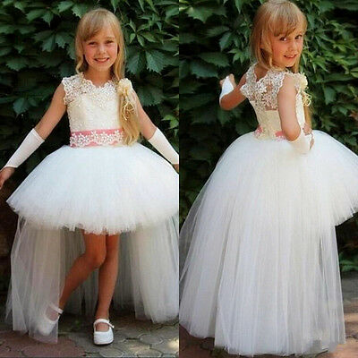 Flower Girl Dress Princess Pageant Bridesmaid Wedding Prom Party Birthday Dress