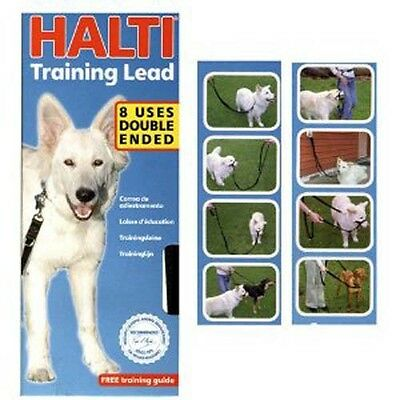 Halti Dog Training Lead Multi Functional Lead Puppies Dogs Small & Large Leads