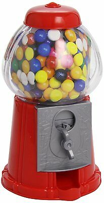Gumball Dispenser Machine Toy With 90g Bubble Gum Bag Coin Operated