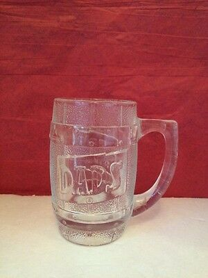 Vintage Glass Dad's Rootbeer Mug