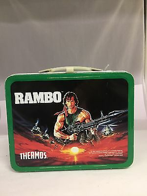 Collectible 1985 Rambo Lunch Box By Thermos, 297-I