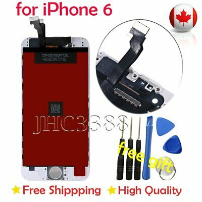 WHITE LCD Touch Screen & Digitizer Display Assembly Replacement For iPhone 6