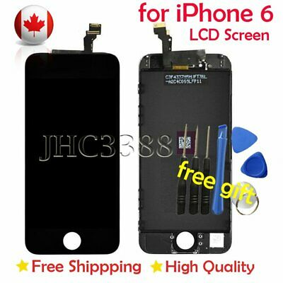 BLACK LCD Touch Screen & Digitizer Display Assembly Replacement For iPhone 6