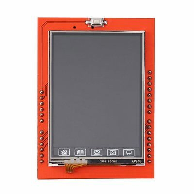 "2.4"" TFT LCD Shield Socket Touch Panel Module for Arduino UNO R3 New LO"