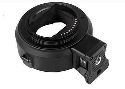 Pro Auto Adapter Focus  For Canon EF EOS Lens to Sony NEX-3 5 6 7 A7 A7R Commlit