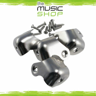 New Set of 4x Ernie Ball Amp Corners - 2-Screw Mounted, No Lip - 6107