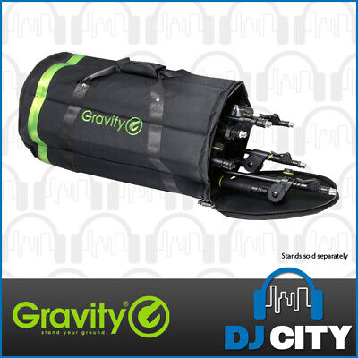 Gravity Professional Transport Carry Bag for 6 Short Microphone Stands - DJ City