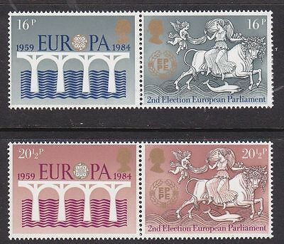 GB MNH STAMP SET 1984 Europa CEPT SG 1249-1252 Pairs 10% OFF FOR ANY 5+