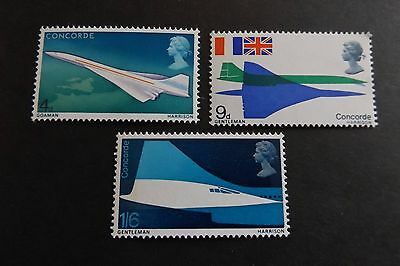 GB MNH STAMP SET 1969 Concorde SG 784-786 10% OFF ANY 5+