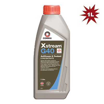Comma Xstream G40 Antifreeze & Coolant Concentrated (Violet) - 1 Litre