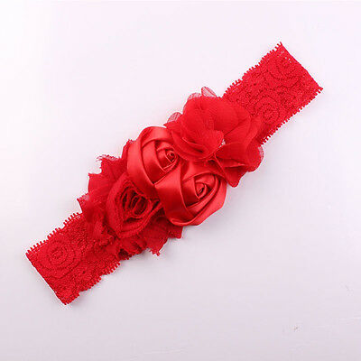 Hot Sale Baby Girl Hair Bow Headband Flower Design Hairband Turban Knot Headwear