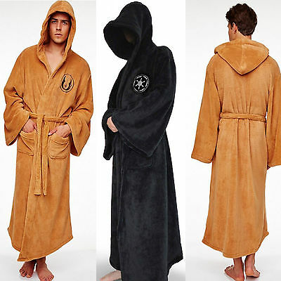 STAR WARS Jedi Sith Imperial Cosplay Costume Hooded Cape Bath Robe Fancy Dresses