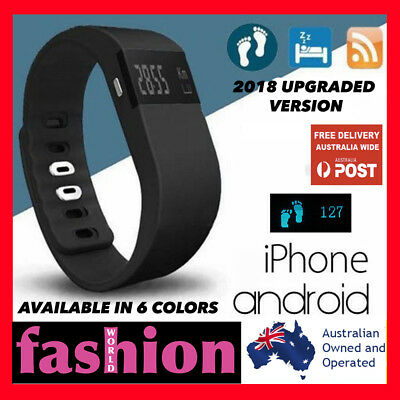 Sports Fitness Tracker Smart Wristband Watch Android iPhone TW64 HR