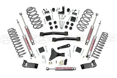 """Jeep Grand Cherokee WJ WG 4"""" Lift Kit Suspension Rough Country Greggson Off-Road"""