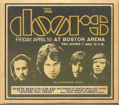"""THE DOORS """"Live in Boston 1970"""" Multifold Cardsleeve 3CD"""