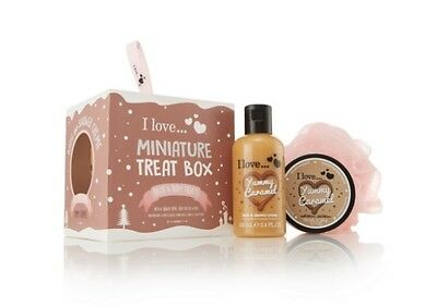 I Love...  Yummy Caramel Miniature Treat Box Gift Set
