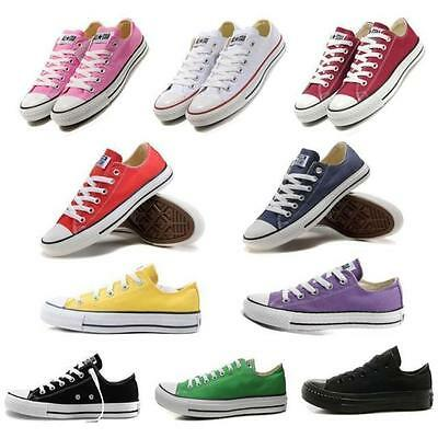New Classic Women Lady ALL STARs Chuck Taylor Ox High Top shoes Canvas Sneakers