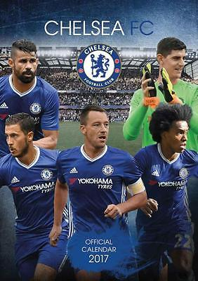 Chelsea Fc Official Uk 2017 Large Poster Wall Calendar New & Sealed