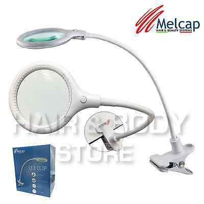 LAMP LENSES LED CLIP DESKTOP magnifying glass 5 diopters with 30 LED portable