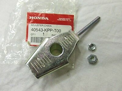 Genuine Honda Cbr125 2011-2016 Chain Adjuster With Nuts 40543-Kpp-T00
