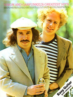 Simon and Garfunkel's Hits Songbook Gitarre Noten