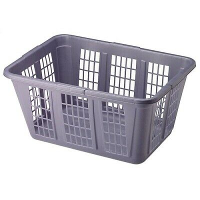 Rubbermaid Blue Rectangular Laundry Basket