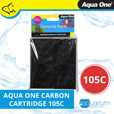 Aqua One EcoStyle 42/47 Carbon Cartridge (2pk) 105c (25105c)