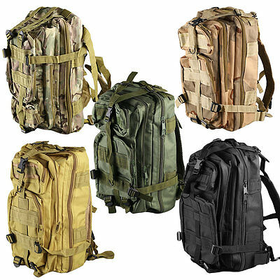 Outdoor Multifunctional Sports Camping  Hiking Bag Military Tactical Backpack AU