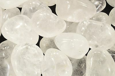 Quartz Crystal 1 1/2 Inch Tumbled Polished Healing Crystals Stones Metaphysical
