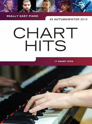 Really Easy Piano Chart Hits Learn to Play PINK Coldplay Beginner MUSIC BOOK 3