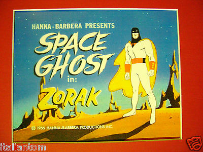 Matted Space Ghost Zorak Opening Scene Spaceghost Cel Cell Animation Art