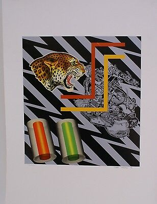 Peter Phillips hand signed limited edtion silkscreen