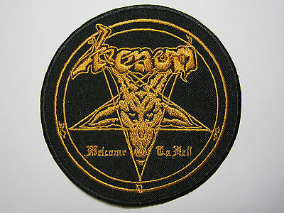 VENOM Welcome To Hell embroidered NEW patch