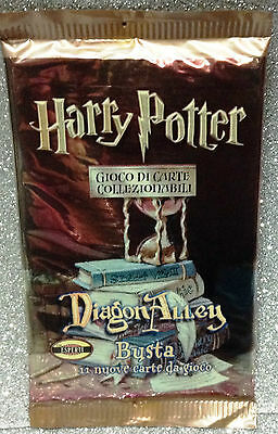 Wizard Harry Potter Trading Cards Game Bustina 11 Carte 11 Cards Booster Diagon