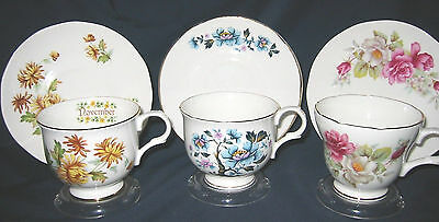 Sadler Wellington - Fancy Teacup Sets (3)
