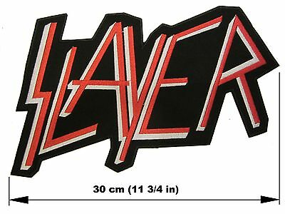 SLAYER first logo BACK PATCH embroidered NEW thrash metal