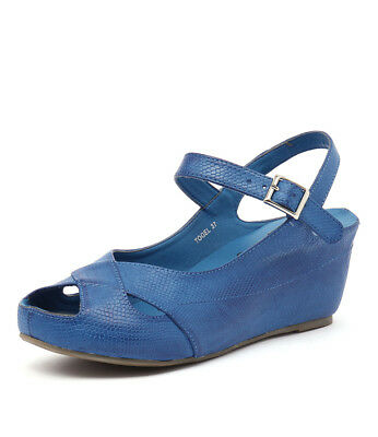 New I Love Billy Togel Cobalt Womens Shoes Casual Shoes Heeled