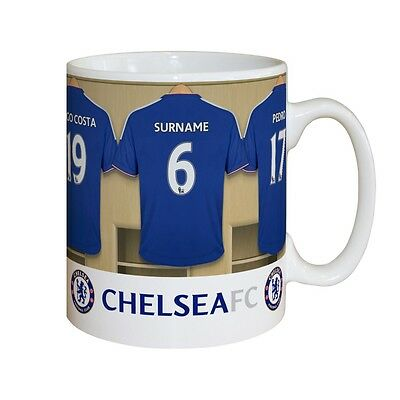 Cfc Chelsea Fc Dressing Room Mug Personalised