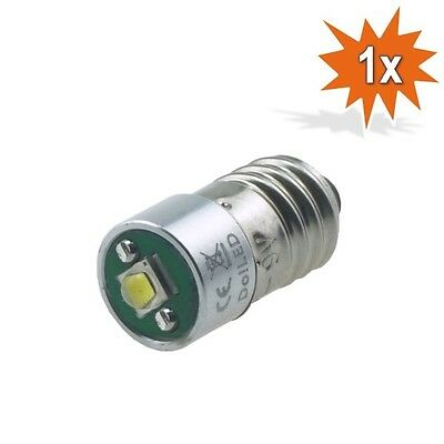 Cree LED E10 Lampe Birne Taschenlampe 220 lm Weiss