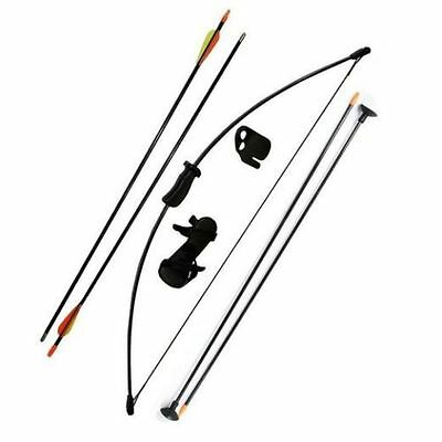 Kids Bow Longbow Archery Training Children Junior Left & Right Toy Outdoor Game