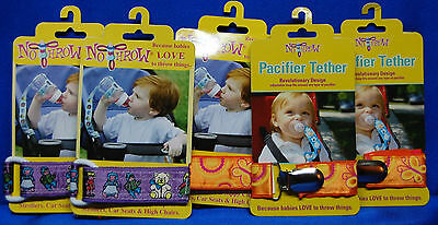 Baby No Throw Bottle Sippy Cup Tethers Pacifier Tethers Sesame Street Tethers