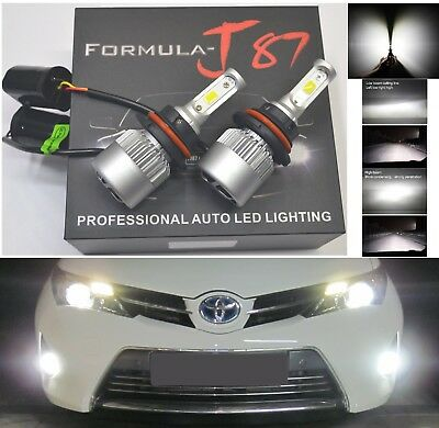 LED Kit N2 72W 9007 HB5 6000K White Two Bulbs Head Light Xenon Look JDM H/L Beam