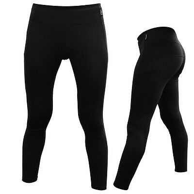 DAM LONG Compression Tights Pants WOMEN LADIES SIZE XS S M L EXERCISE SPORTS RUN