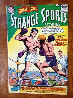 Brave and the Bold #47 FINE+  Infantino Anderson Strange Sports Stories