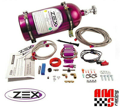 Zex 82023 V8 Efi Wet Nitrous System Kit 75-125 Hp Includes Bottle Nos N2O